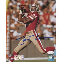 Jerry Rice Signed San Francisco 49ers 8x10 Photo (JSA COA  Rice Hologram)