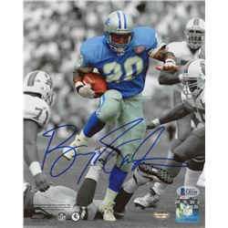 Barry Sanders Signed Detroit Lions 8x10 Photo (Beckett COA)