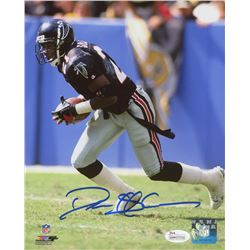 Deion Sanders Signed Atlanta Falcons 8x10 Photo (JSA COA)