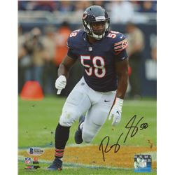 Roquan Smith Signed Chicago Bears 8x10 Photo (Beckett COA)