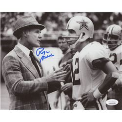 Roger Staubach Signed Dallas Cowboys 8x10 Photo (JSA COA)
