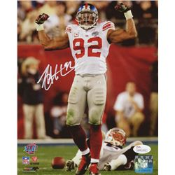 Michael Strahan Signed New York Giants 8x10 Photo (JSA COA)