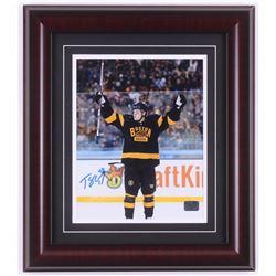 Torey Krug Signed Boston Bruins 14x16 Custom Framed Photo Display (Krug Hologram)