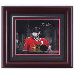 Duncan Keith Signed Chicago Blackhawks 14x16 Custom Framed Photo Display (Your Sports Memorabilia St