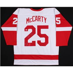 "Darren McCarty Signed Detroit Red Wings Jersey Inscribed ""4x SC Champs"" (JSA COA)"
