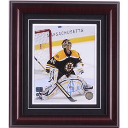 Tuukka Rask Signed Boston Bruins 14x16 Custom Framed Photo Display (Rask Hologram)