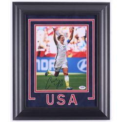 Carli Lloyd Signed Team USA 14.5x17.5 Custom Framed Photo Display  (PSA COA)