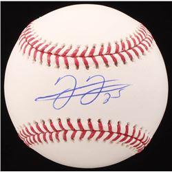 Frank Thomas Signed OML Baseball (JSA COA)
