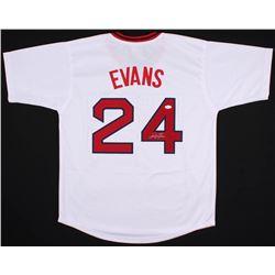 Dwight Evans Signed Boston Red Sox Jersey (JSA COA)