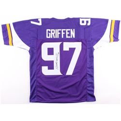 "Everson Griffen Signed Minnesota Vikings Jersey Inscribed ""BG"" (JSA COA)"