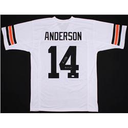 """Ken Anderson Signed Cincinnati Bengals Jersey Inscribed """"1981 NFL MVP"""" (JSA COA)"""