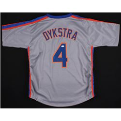 "Lenny Dykstra Signed New York Mets Jersey Inscribed ""86 WS Champs"" (JSA COA)"