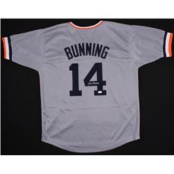 Jim Bunning Signed Detroit Tigers Jersey (JSA COA)