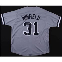 Dave Winfield Signed New York Yankees Jersey (JSA COA)