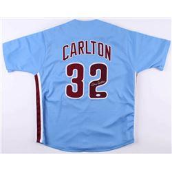 Steve Carlton Signed Philadelphia Phillies Jersey (JSA COA)