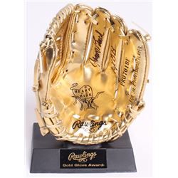 "Johnny Bench Signed Mini Golden Glove Inscribed ""10x GG"" (Beckett COA)"