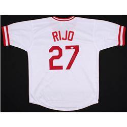Jose Rijo Signed Cincinnati Reds Jersey (JSA COA)