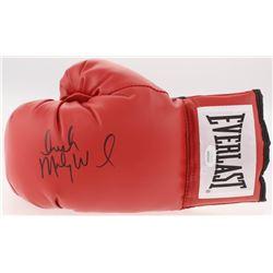 "Micky Ward Signed Everlast Boxing Glove Inscirbed ""Irish"" (JSA COA)"