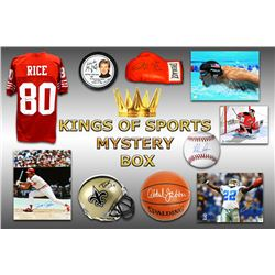 Kings of Sports Autograph Mystery Box - Series 1 (Limited to 75)(5 Autographs/2 or More Hall of Fame