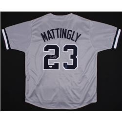 Don Mattingly Signed New York Yankees Jersey (JSA COA)