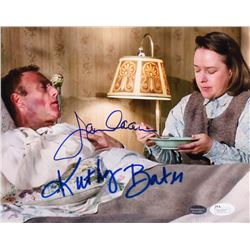 "Kathy Bates  James Caan Signed ""Misery"" 8x10 Photo (Schwartz COA  JSA COA)"