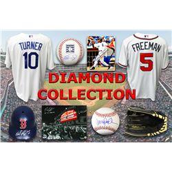 Baseball Diamond Collection Mystery Box – Series 2 (3 Autograph Baseball Collectibles Per Box)