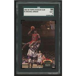 1992-93 Topps Stadium Club #1 Michael Jordan (SGC 9)
