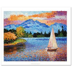 Mountain Lake Sailing by Antanenka, Alexander