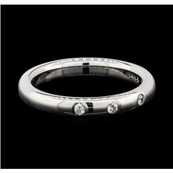 0.10 ctw Diamond Ring - 14KT White Gold