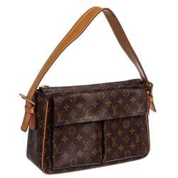 Louis Vuitton Monogram Canvas Leather Viva Cite GM Bag