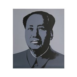 Mao Grey by Warhol, Andy