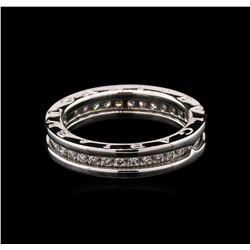 0.55 ctw Diamond Ring - 18KT White Gold