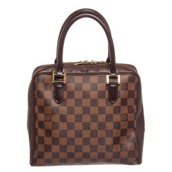 Louis Vuitton Damier Ebene Canvas Leather Brera Bag