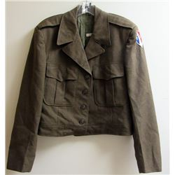 WWII US ARMY DRESS COAT WITH COMMUNICATIONS