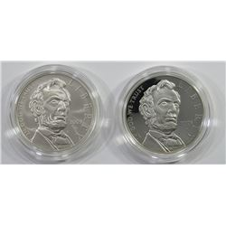 2009 UNC & PROOF LINCOLN SILVER