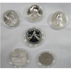 1992 2 COIN PROOF OLYMPIC SET; 1988