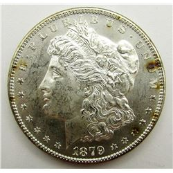 1879-S, REV '79 MORGAN DOLLAR BU