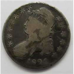 1824 CAPPED BUST HALF DOLLAR GOOD