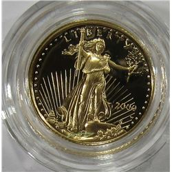 2000 1/10th oz GOLD AMERICAN EAGLE