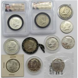 Silver Kennedy Half Dollar Lot