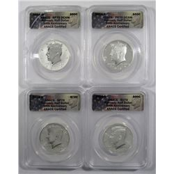 2014 KENNEDY 50th ANNIV. SET ANACS