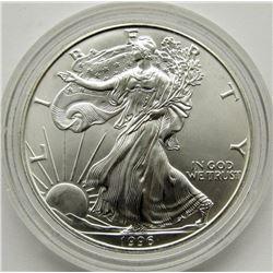 1996 AMERICAN SILVER EAGLES