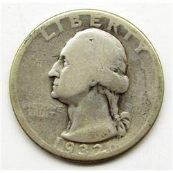 1932-D WASHINGTON QUARTER DOLLAR
