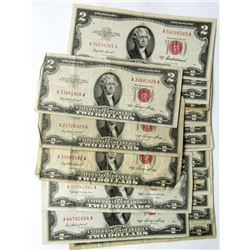 20 - $2 RED SEAL NOTES
