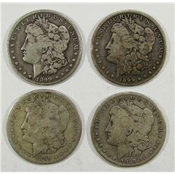 2-1899-O, 2-1899-S MORGAN DOLLAR CIRCS