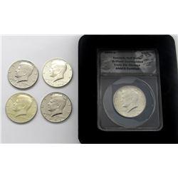1964-D Kennedy Half Dollar ANACS Triple Die
