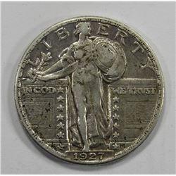 1927 STANDING LIBERTY QUARTER- XF