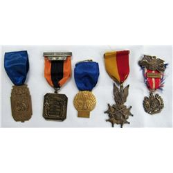 MILITARY DRUM & BUGLE CORPS MEDALS.