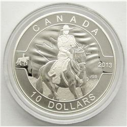 2013 $10 FINE SILVER COIN - ROYAL CANADIAN