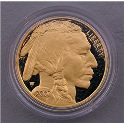 2007 AMERICAN BUFFALO ONE OUNCE GOLD PROOF